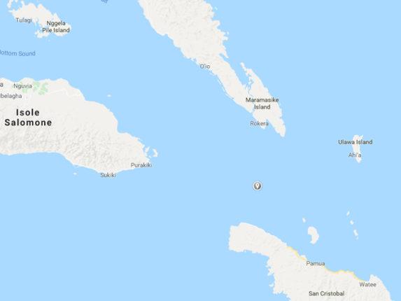 Terremoto Isole Salomone oggi 09 Settembre 2018