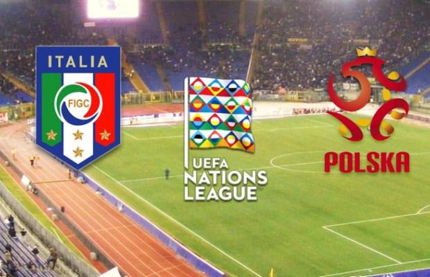 L'Italia esordisce contro la Polonia in Nations League