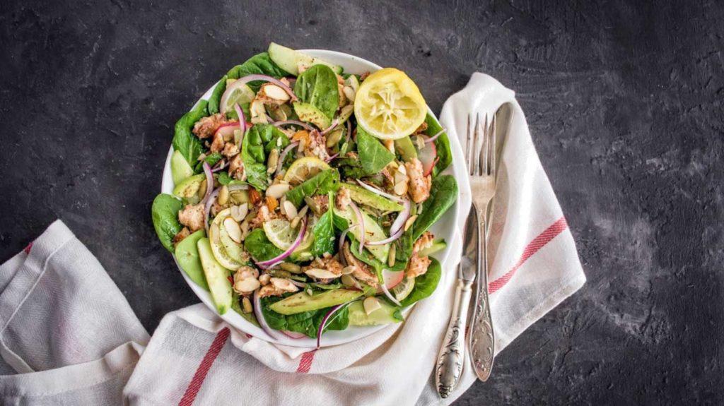 menù dietetico settimanale ad alto contenuto proteico