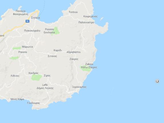 Terremoto in Grecia oggi 26 Settembre 2018