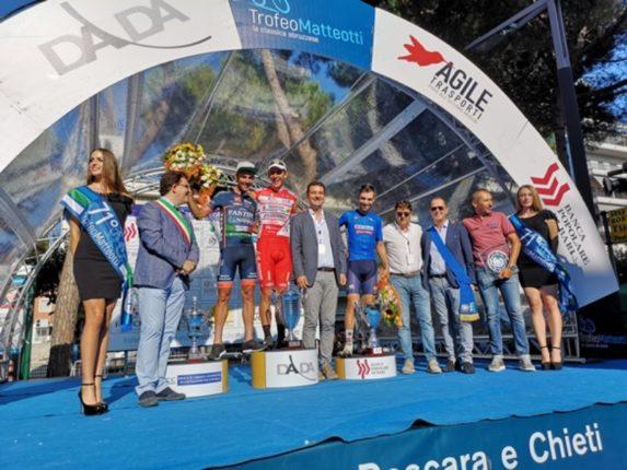 Davide Ballerini si aggiudica il Trofeo Matteotti 2018