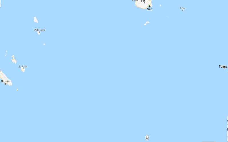 Terremoto nelle Isole Fiji ieri 16 Settembre 2018