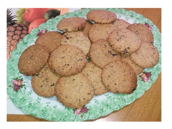 Biscotti nocciole e cioccolato fondente