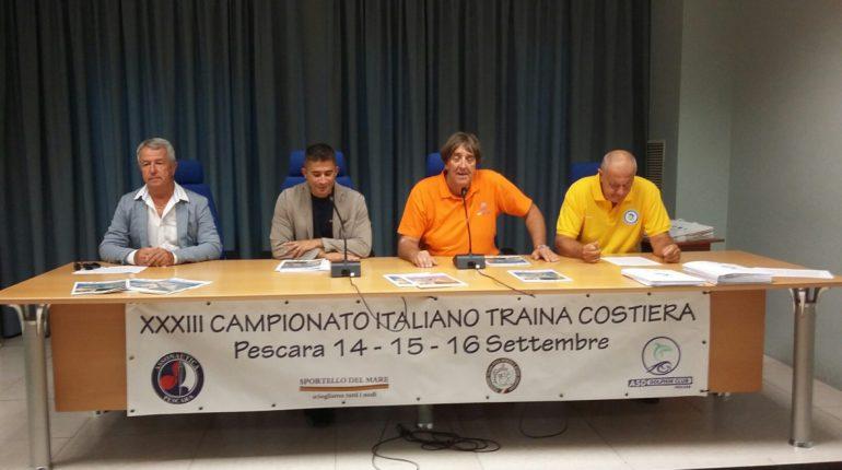 A Pescara il Campionato Italiano Traina Costiera