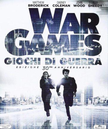 War Games - Giochi di Guerra (copertina bluray ita)
