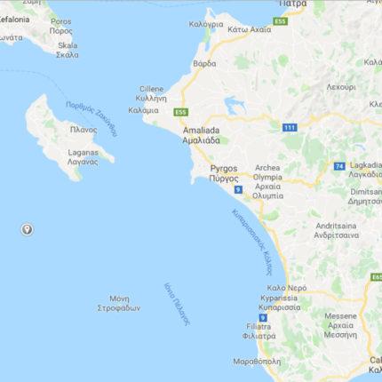 Terremoto in Grecia oggi 26 Ottobre 2018
