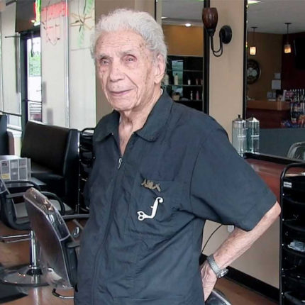 parrucchiere più vecchio al mondo