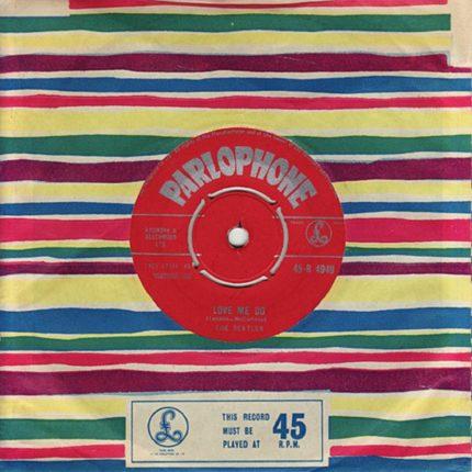 il Primo 45 giri dei Beatles