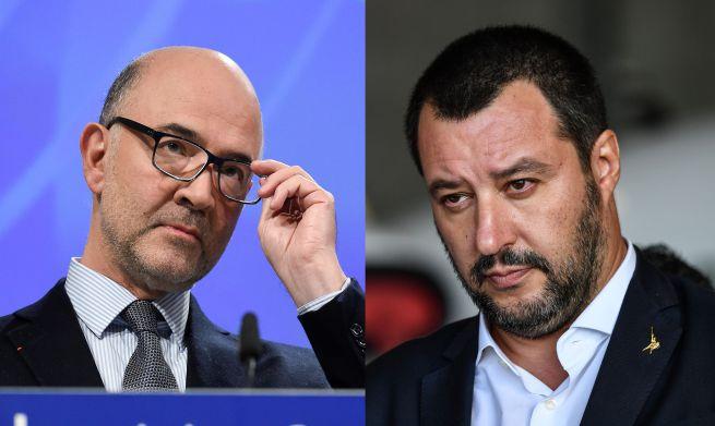 Moscovici attacca Salvini