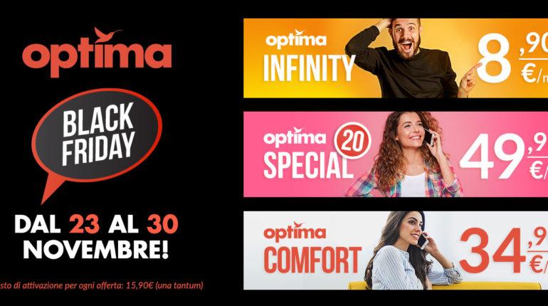 Optima Italia per il Black Friday: offerte Mobile senza precedenti
