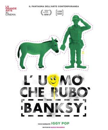 L'uomo che rubò a Banksy al cinema a dicembre
