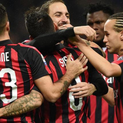 Milan vs Betis Siviglia 1 a 1