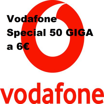 Novità Vodafone Special