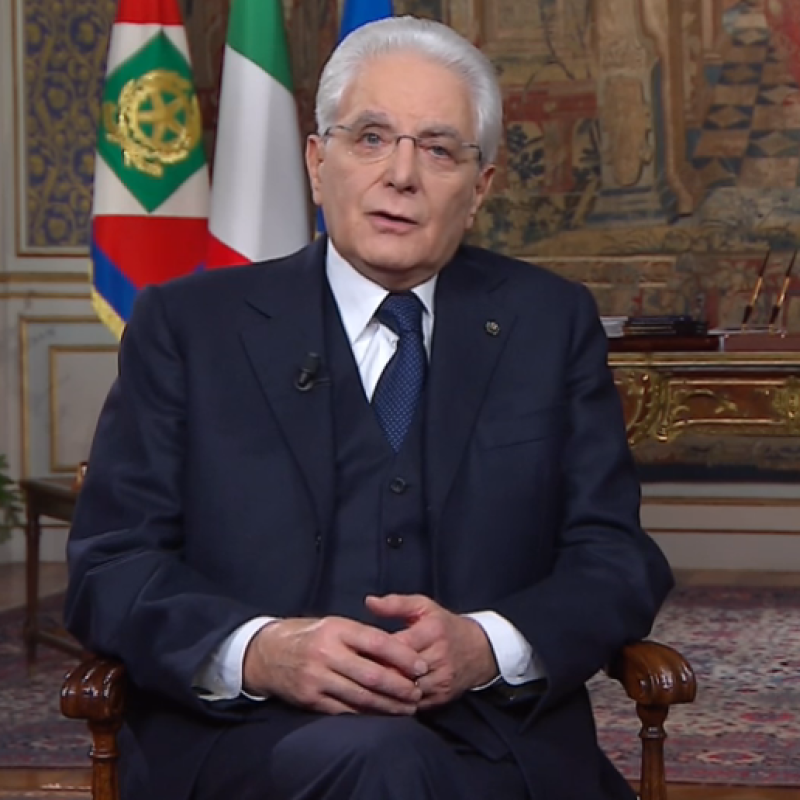 Discorso di fine anno 2018 2019 2020 del Presidente della Repubblica Sergio Mattarella