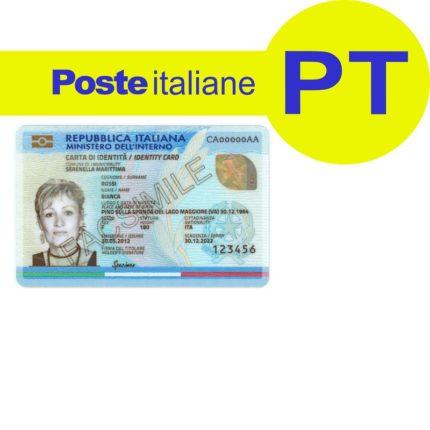 Carta d'Identità e poste Italiane