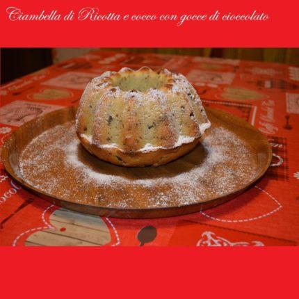 Ciambella di Ricotta e cocco