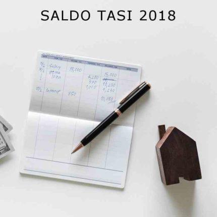 SALDO TASI 2018