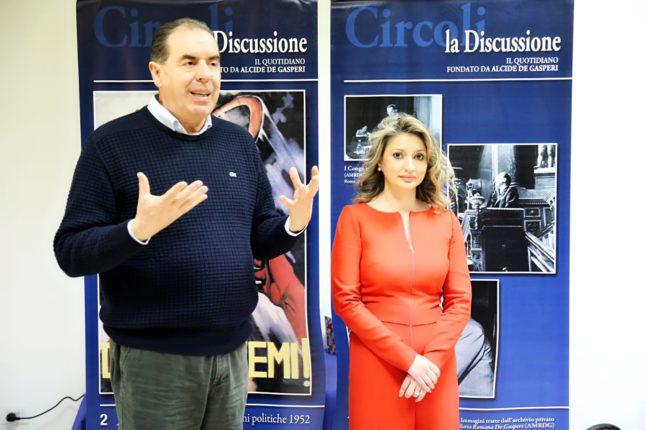 Enrico Di Giuseppantonio e Angelica Bianco