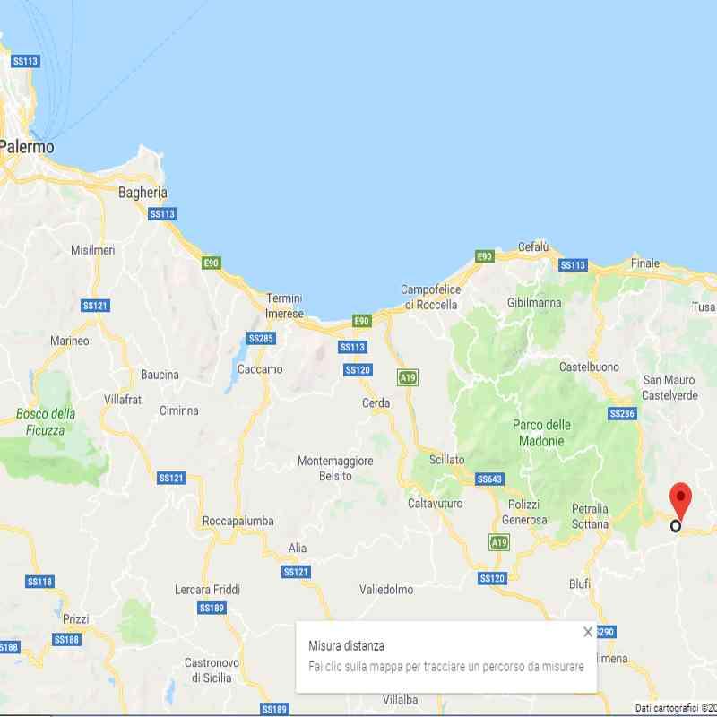 Terremoto a Palermo oggi 13 Dicembre 2018