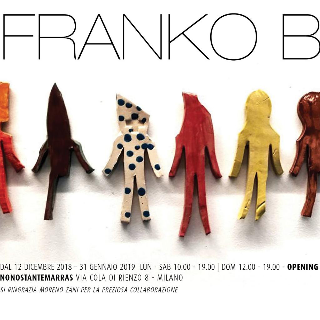 Franco B in mostra a Milano