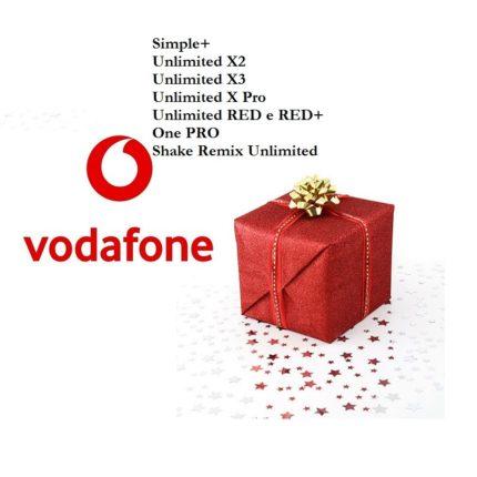 Vodafone: le offerte di Natale 2018