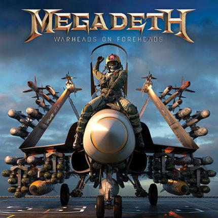 Megadeth - Warheads on Foreheads copertina