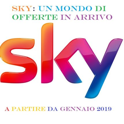 Sky: un mondo di offerte