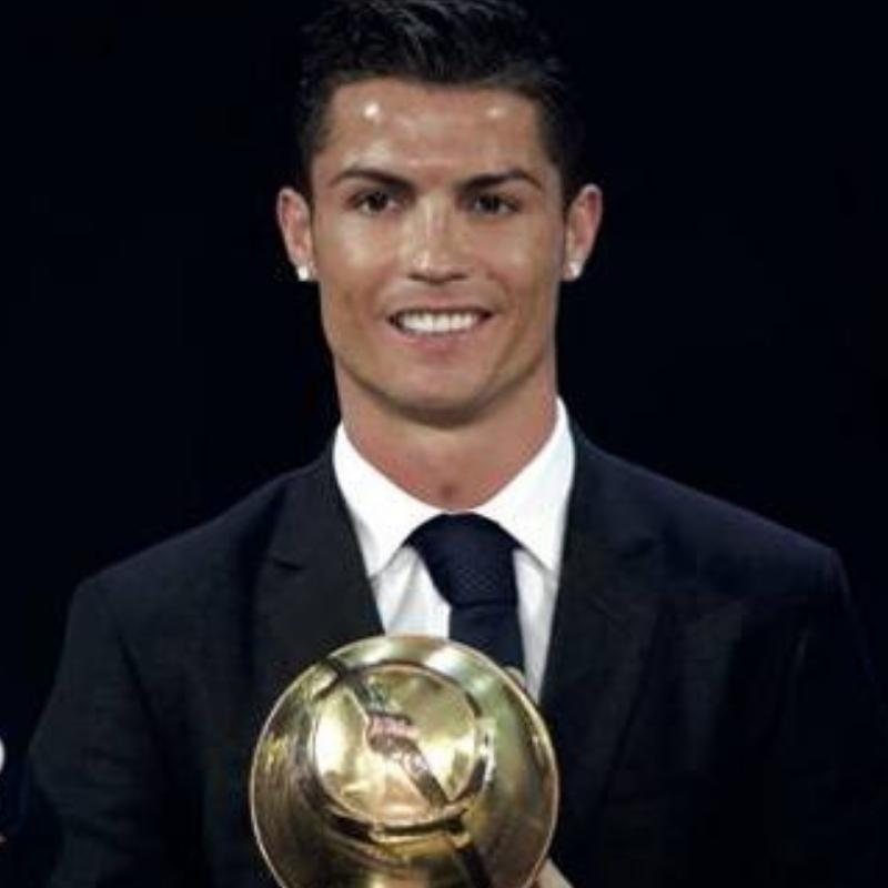 Cristiano Ronaldo miglior calciatore