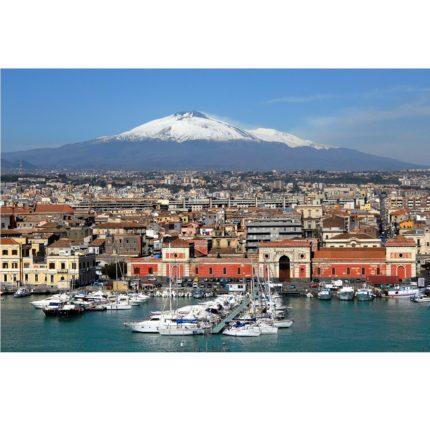 L'Etna slitta nel Mediterraneo