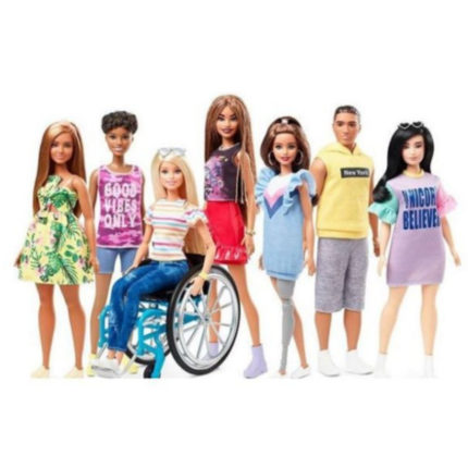 la barbie con disabilità