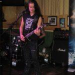 il chitarrista di Pino Scotto live @ Stammtisch Tavern, Chieti Scalo foto