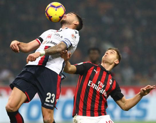 Cagliari - Milan i rossoblu senza gioco, idee e attributi