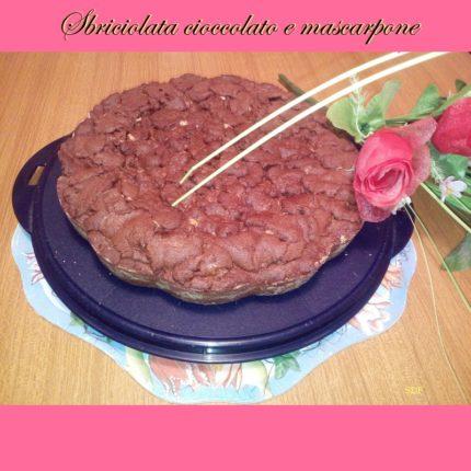 Sbriciolata cioccolato e mascarpone