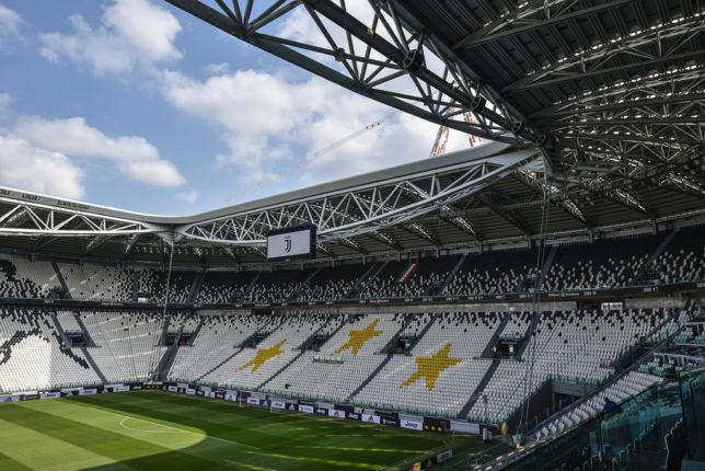 Juventus Allianz Stadium al femminile