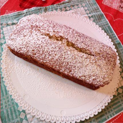Plumcake integrale con banane e mandorle