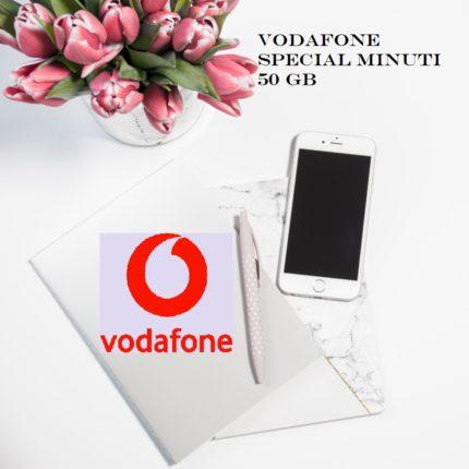L'onda di Vodafone Special minuti