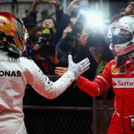 Le parole di Vettel e Hamilton in conferenza