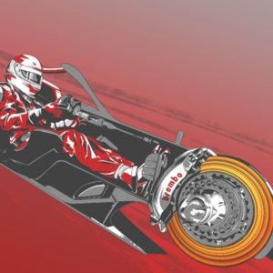 GP Azerbaigian Formula 1 2019 freni