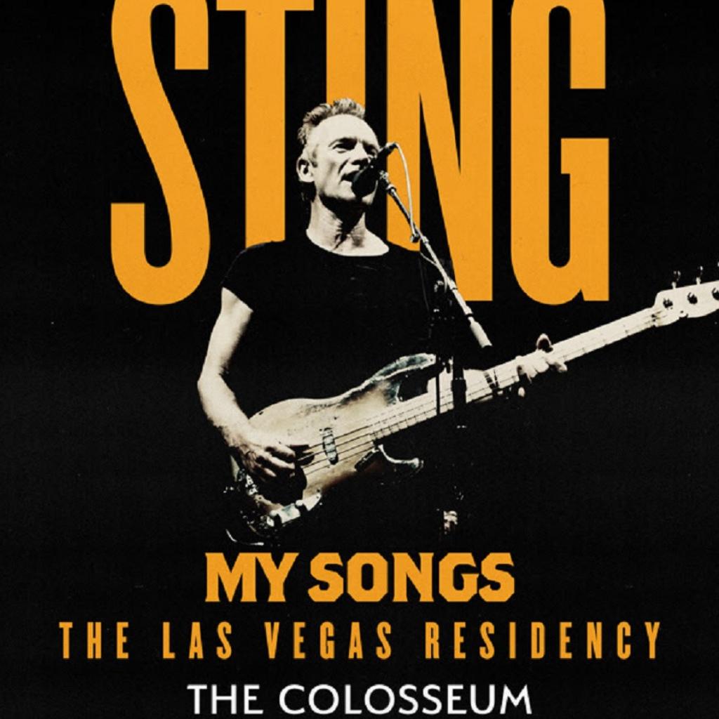 Sting Residency Las Vegas locandina