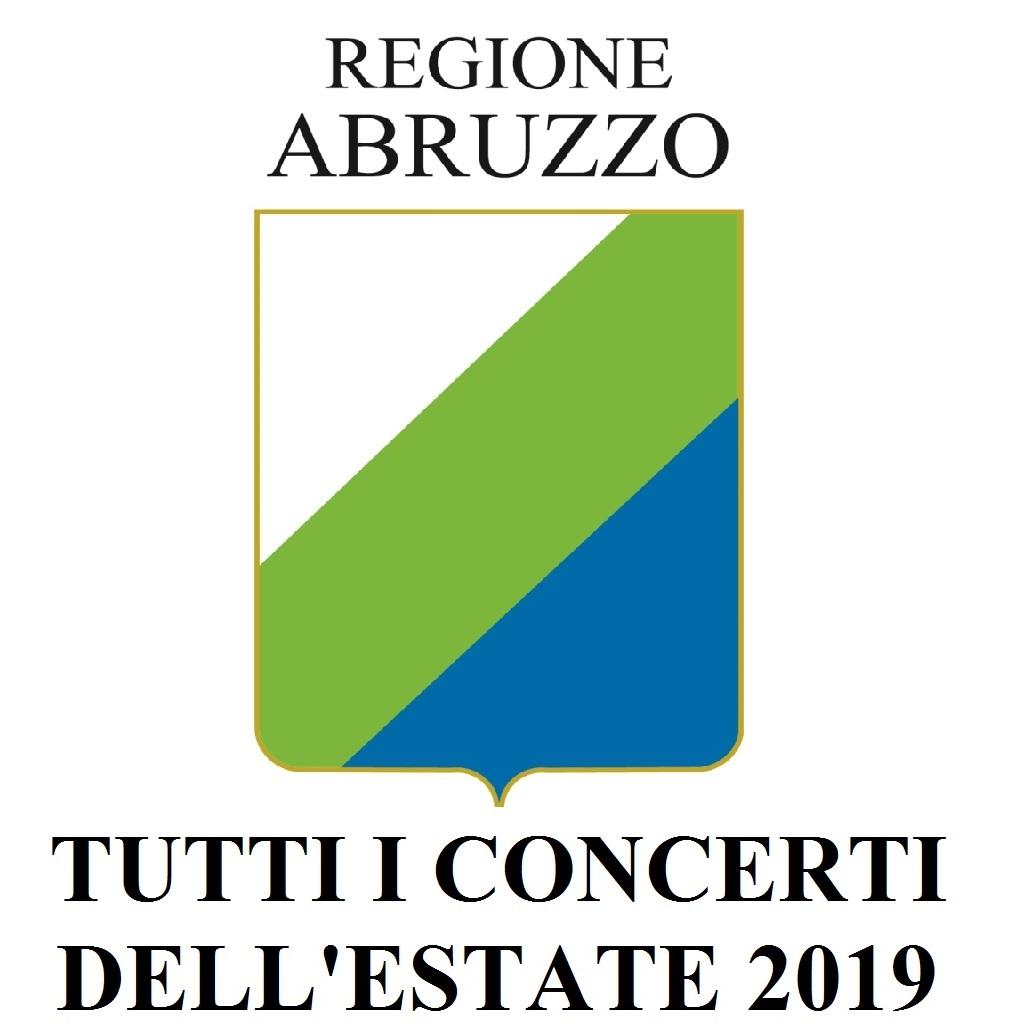 Abruzzo concerti estate 2019