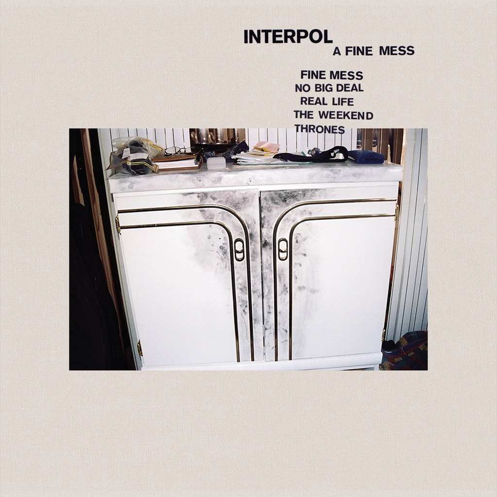 Interpol - A Fine Mess Ep copertina