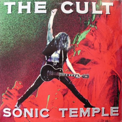 The Cult Sonic Temple copertina
