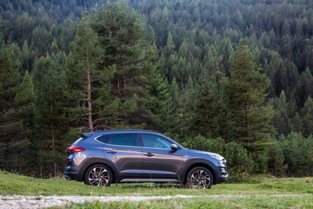 Nuova Hyundai Tucson Hybrid in Italia