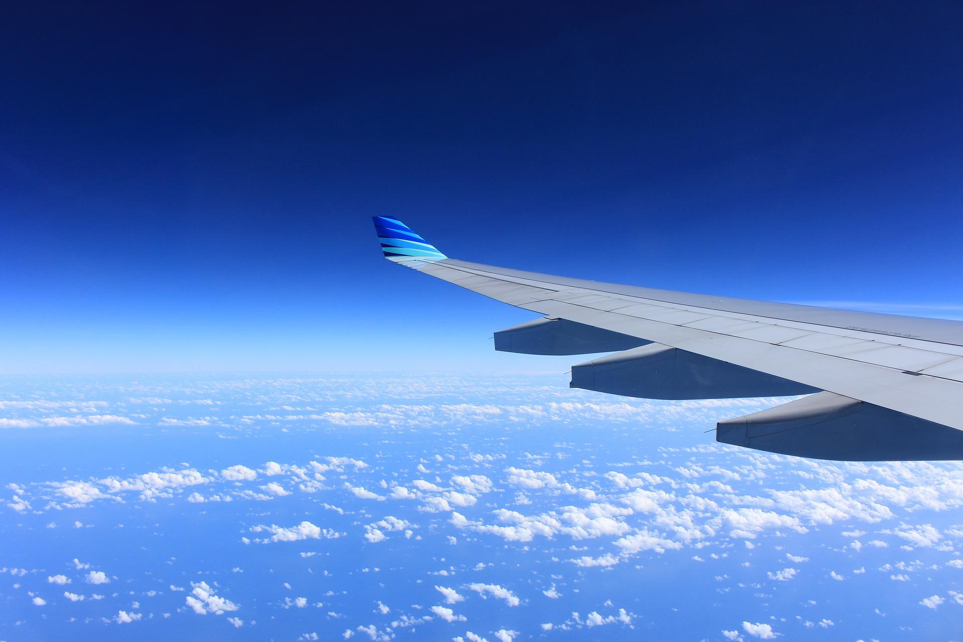 L'Ala dell'aeroplano che si assembla come un puzzle