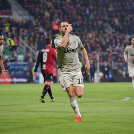 Allegri elogia la sua squadra nel post partita Cagliari - Juve