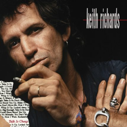 Keith Richards - Talk is Cheap copertina