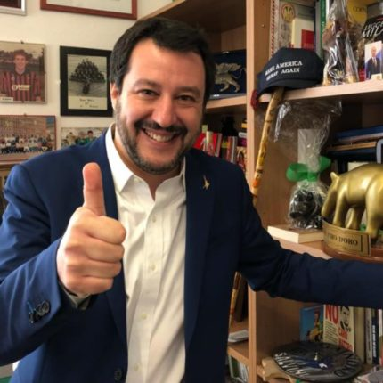 La Lega è il primo partito d'Italia