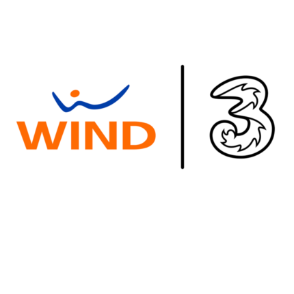 La rete Wind Tre