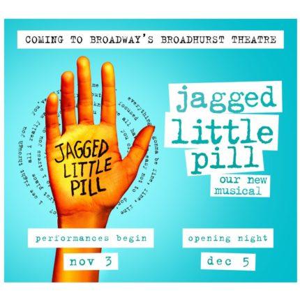 Alanis Morrissette - Jagged Little Pill musical locandina