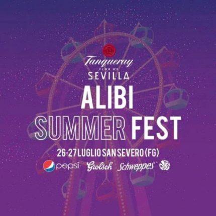 Alibi Summer Fest a San Severo locandina